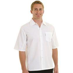 Biała koszula unisex przepuszczająca powietrze | rozmiary S-XL