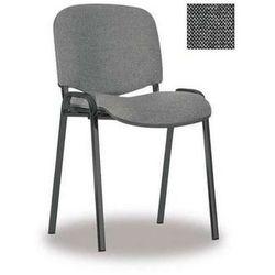 NOWY STYL Krzesło ISO BLACK, splot szary