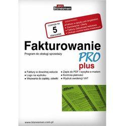 Fakturowanie PRO Plus - 1 firma / 5 stanowisk