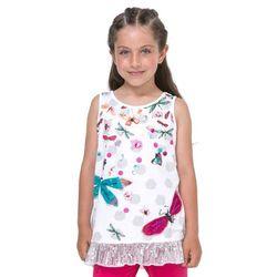 Desigual podkoszulek dziewczęcy Arizona 140 biały - BEZPŁATNY ODBIÓR: WROCŁAW!