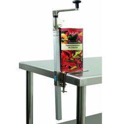 Przemysłowy otwieracz do puszek CARRA | 180x70x(H)660mm