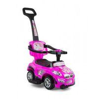 Jeździki, Milly Mally Jeździk 3w1 Pojazd Happy Pink 0262