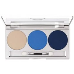 Kryolan EYE SHADOW TRIO SET (BLUE AURA) Paleta 3 kolorów cieni do powiek - BLUE AURA (5333)
