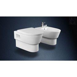 Ceramiczna misa wc i bidet BOHEMIA LINEABLUE