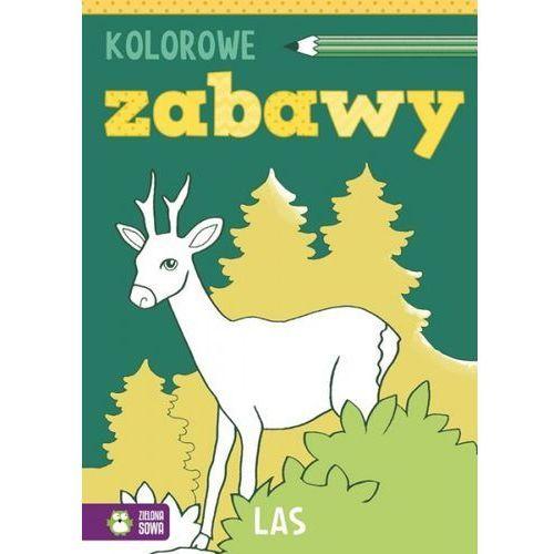 Książki dla dzieci, Kolorowe zabawy Las (opr. miękka)