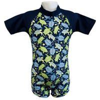 Stroje kąpielowe dla dzieci, Strój kąpielowy kombinezon dzieci 120cm filtr UV50+ - Turtle Print \ 120cm