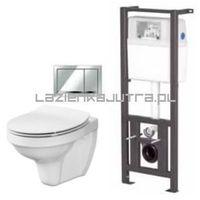 Stelaże i zestawy podtynkowe, CERSANIT HIT DELFI SLIM Zestaw podtynkowy do WC s701-218
