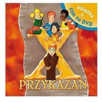 Książki dla dzieci, X Przykazań. Książka z filmem DVD (opr. twarda)