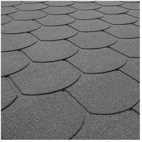 Pozostałe artykuły dachowe, Gont karpiówka Matizol 3,85 m2 ciemny grafitowy