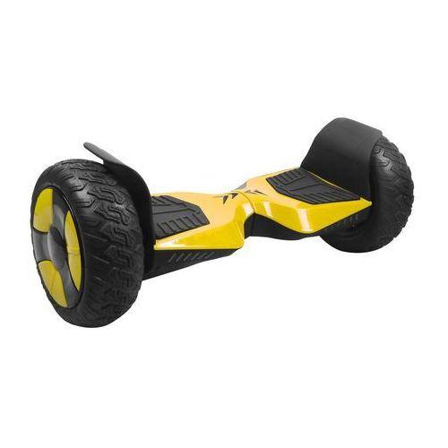 Deskorolki i mountainboard, Elektryczna deskorolka smartboard GOCLEVER Sport edition SUV 10 Żółty + DARMOWY TRANSPORT!