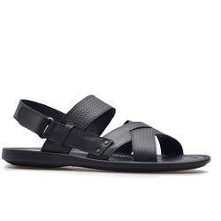 Sandały Krisbut 1195-1-1 Czarne lico