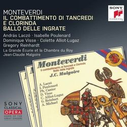 Monteverdi: Il combattimento di Tancredi e Clorinda (CD) - Jean-Claude Malgoire