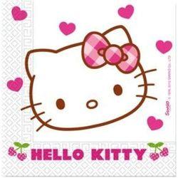 Serwetki jednorazowe Hello Kitty 33 x 33 cm 20 szt. DISNEY