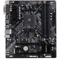 Płyta główna Gigabyte GA-B450M DS3H DDR4 DIMM AM4 Micro ATX CrossFire RAID SATA- natychmiastowa wysyłka, ponad 4000 punktów odbioru!