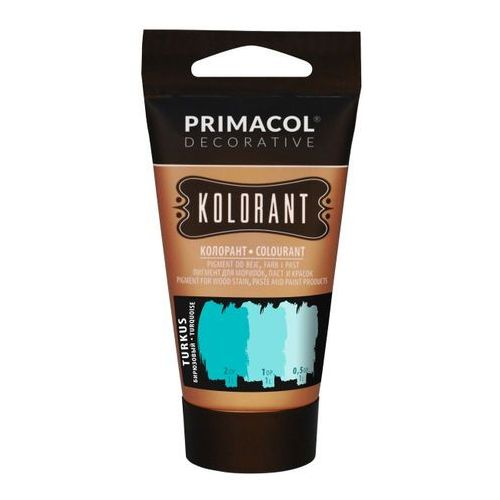 Farby, Barwnik Primacol Kolorant turkusowy 40 ml