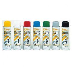 Specjalny spray do znakowania Traffic, biały