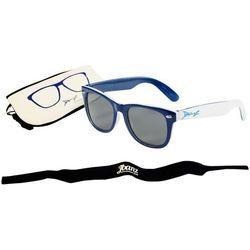 Okulary przeciwsłoneczne dzieci 4-10lat UV400 BANZ - Navy/White