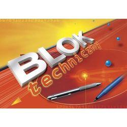Blok techniczny Kreska A4/10k. 0001 kolorowy
