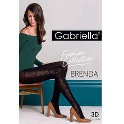 Gabriella Brenda code 439 rajstopy z wzorem