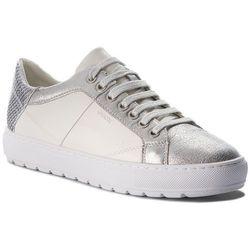 Sneakersy GEOX - D Breeda D D822QD 0BCKY C0007 White/Silver