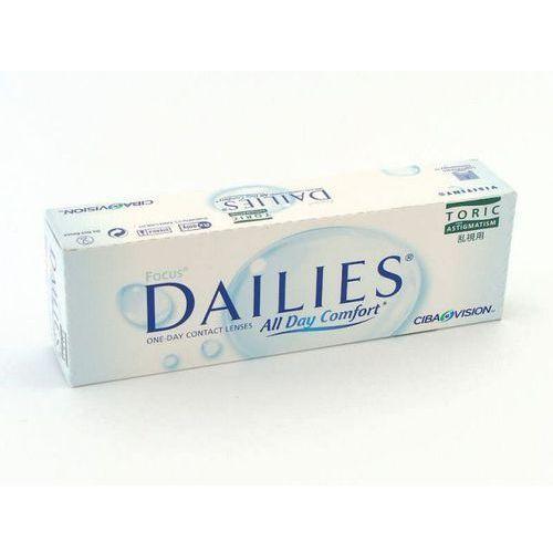Soczewki kontaktowe, Focus Dailies All Day Comfort Toric 30 szt.