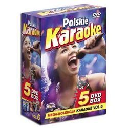 Polskie Karaoke VOL. 6 - Mega Kolekcja Karaoke (5 płyt DVD)