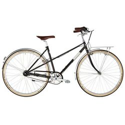 """Ortler Bricktown Trapeze, czarny 55cm (28"""") 2021 Rowery miejskie Przy złożeniu zamówienia do godziny 16 ( od Pon. do Pt., wszystkie metody płatności z wyjątkiem przelewu bankowego), wysyłka odbędzie się tego samego dnia."""