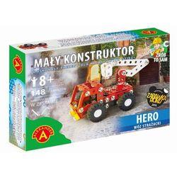 Mały konstruktor Hero Wóz strażacki 148 elementów