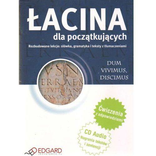 Książki do nauki języka, Łacina Dla Początkujących (Książka + Audio Cd) (opr. kartonowa)