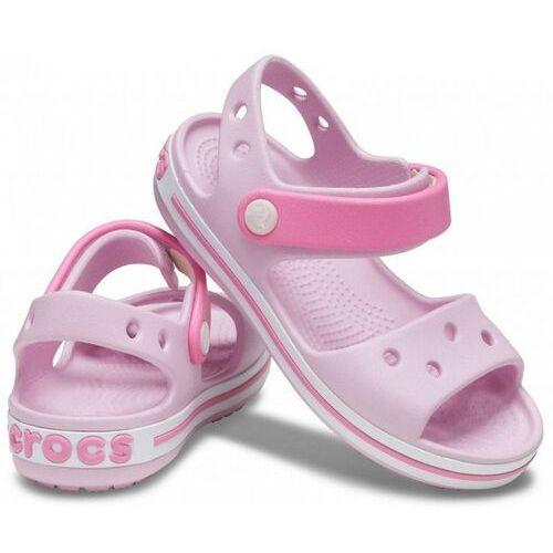 Sandały dziecięce, Sandały CROCS - Crocband Sandal Kids 12856 Ballerina Pink
