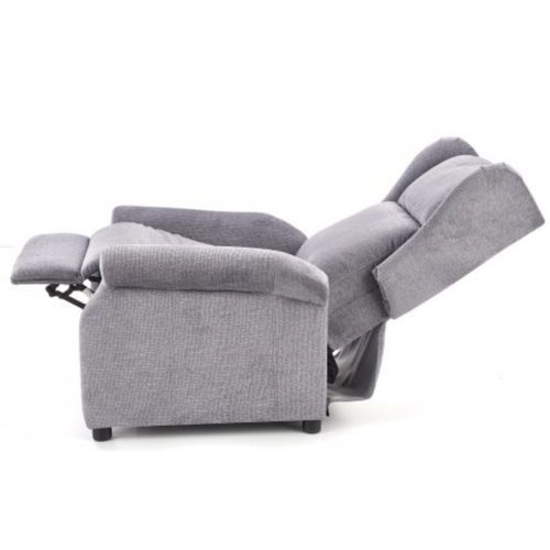 Fotele, Fotel Agustin Rozkładany Szary kolor szary