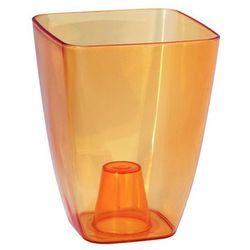 Osłonka plastikowa 13 x 13 cm herbaciana STORCZYK FORM-PLASTIC
