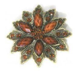 Broszka w kształcie kwiatu, Kolekcja Orchidea