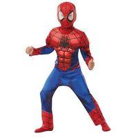 Przebrania dziecięce, Kostium Deluxe Spiderman z mięśniami dla chłopca - Roz. M