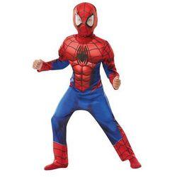 Kostium Deluxe Spiderman z mięśniami dla chłopca - Roz. M
