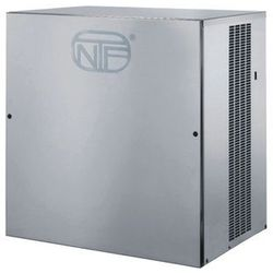 Kostkarka do lodu typu half cube 200 kg/24 h, chłodzona wodą, 1,6 kW, 770x550x805 mm   NTF, CV 475 W
