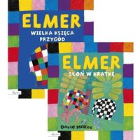 Książki dla młodzieży, Elmer Wielka księga przygód [McKee David] (opr. twarda)