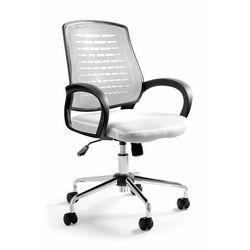 Krzesło biurowe, fotel, Award, biały