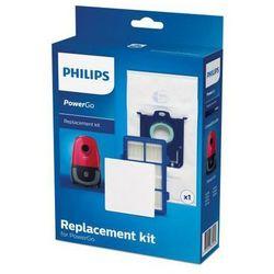 Philips zestaw z filtrami oraz workiem Power Go FC8001/01
