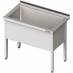 Stół z basenem jednokomorowym 1200x700x850 mm | STALGAST, 981367120