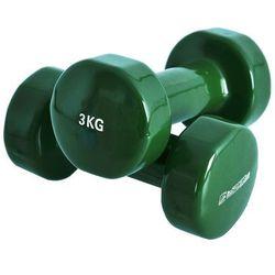 Hantle fitness winylowe inSPORTline 2 x 3kg