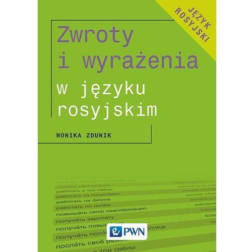 Książki do nauki języka, Zwroty i wyrażenia w języku rosyjskim (opr. miękka)