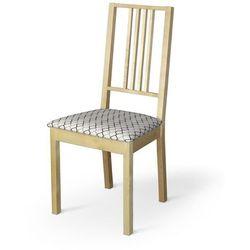 Dekoria Sukienka na krzesło Jokkmokk/Stefan z wiązaniami Jupiter 127-01, krzesło jokkmokk/stefan
