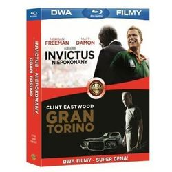 Gran Torino/Invictus - Niepokonany (2xBlu-Ray) - Clint Eastwood DARMOWA DOSTAWA KIOSK RUCHU