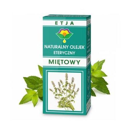 Olejki zapachowe, MIĘTA - Olejek eteryczny ETJA 10 ml