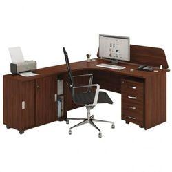 Zestaw mebli biurowych MIRELLI A+, typ F, orzech