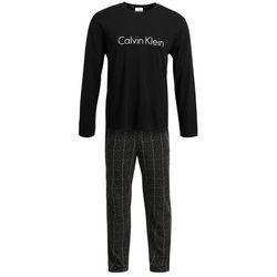 Calvin Klein Underwear CREW SET Piżama music box gri