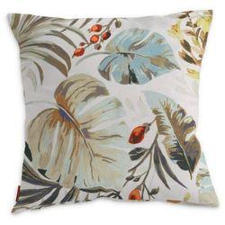Dekoria Poszewka Kinga na poduszkę, kolorowe motywy roślinne na białym tle, 50 × 50 cm, Urban Jungle