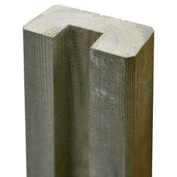 Słupek drewniany Blooma Neva połówka 240 cm