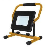 Naświetlacze zewnętrzne, V-tac Naświetlacz LED przenośny SMD VT-4250 50W 4000K 2550LM IP65CZARNY